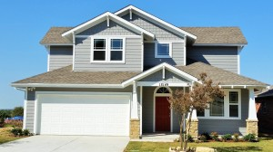 Two story Craftsman style house
